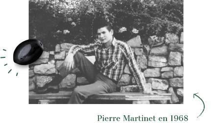 Pierre Martinet en 1968